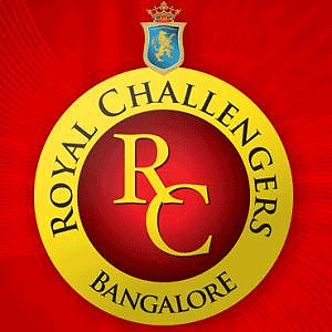Royal Challengers Bangalore IPL 2010 Tickets for IPL 3 - RCB Squad Team Logo for IPL  2010 Season 3