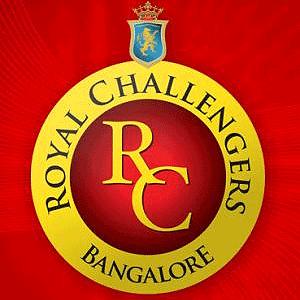 Royal Challengers Bangalore IPL 2010 Tickets for IPL 3 - RCB Squad Team Logo for IPL  2010 Season 3