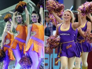 IPL 2011 Hot Cheerleaders Photos